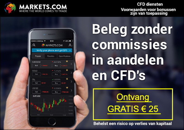 Online beleggen bij Markets